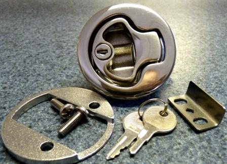 Large Locking Slam Latch 316 Cast Stainless Steel