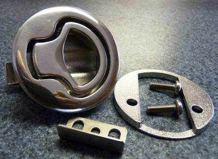Large Non Locking Slam Latch 316 Cast Stainless Steel