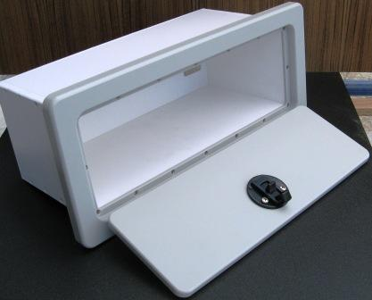 King Starboard Marine Boat Glove Box 15 Quot W X 7 Quot H X 6 75 Quot D