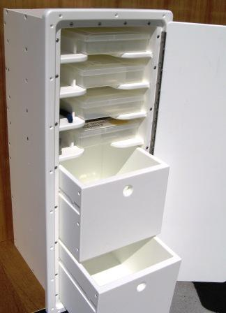 King Starboard 2 Drawer 4 Shelf Tackle Center 13 Quot W X