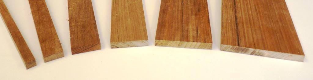Milled asian teak boards quot thick to w