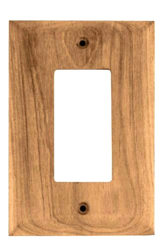 Teak Ground Fault Outlet Cover 2 Pack Whitecap Afi