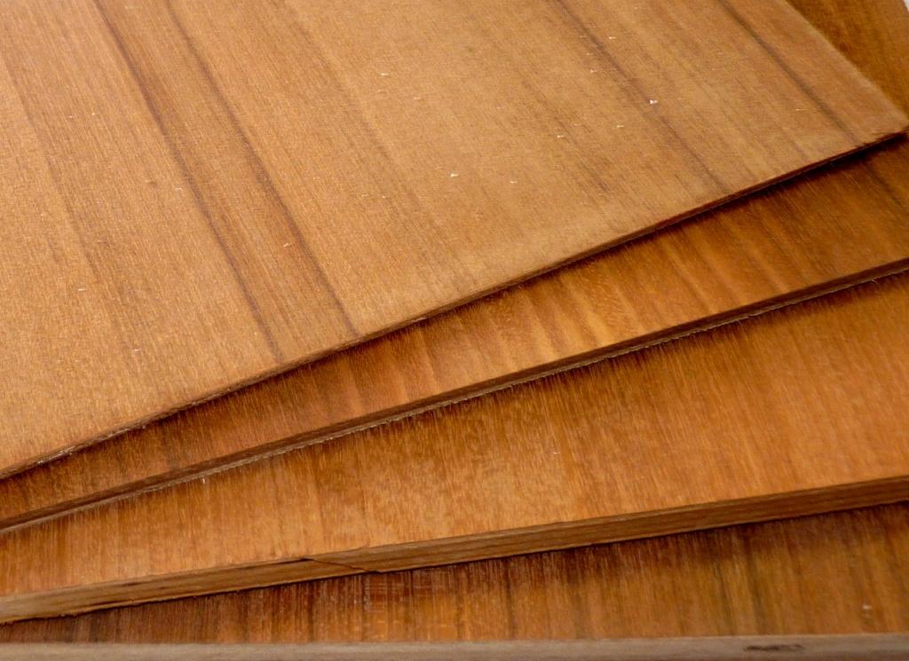 Teak veneer plywood project panels quot to