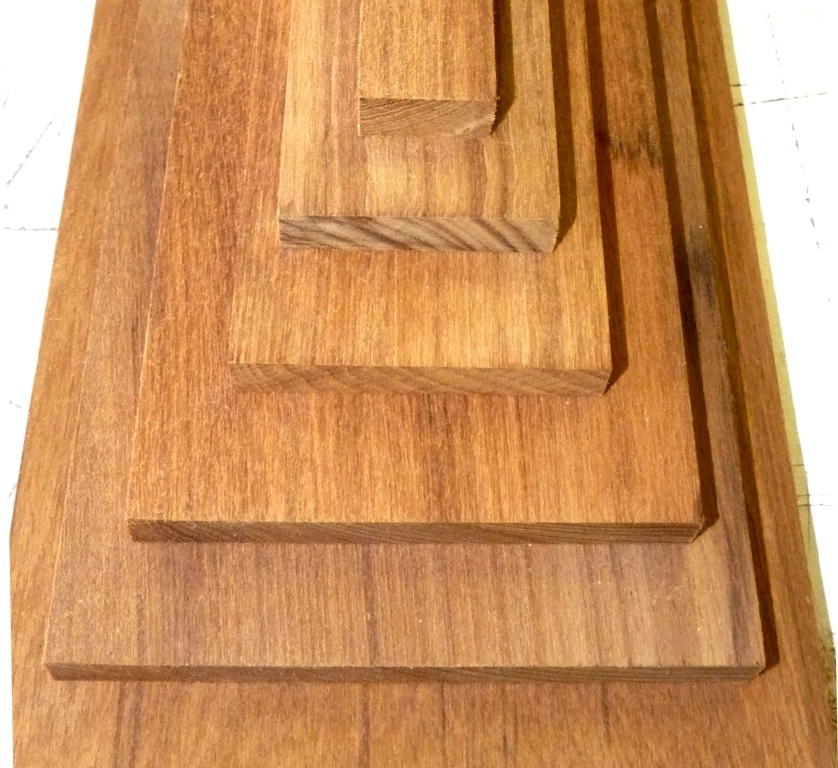 Quot thick marine teak lumber to w l