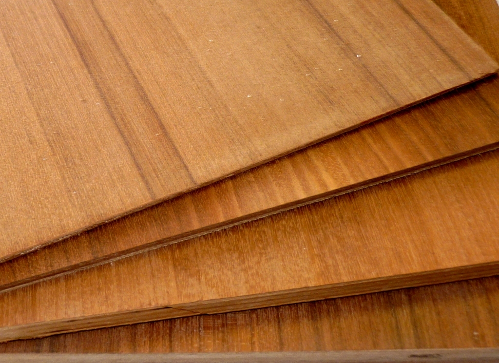 Teak Veneer Plywood Project Panels 12 Quot X12 Quot 1 8 Quot To 3
