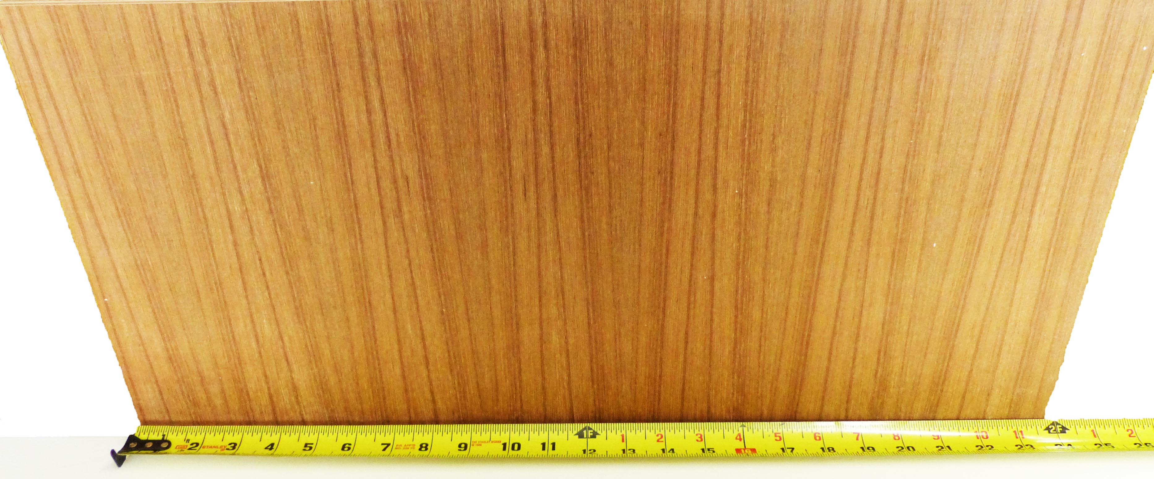 Teak Veneer Plywood Project Panels 12 Quot X24 Quot 1 8 Quot To 3
