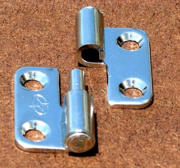 Gemlux Lift Off Hinge Polished Stainless Steel Stamped