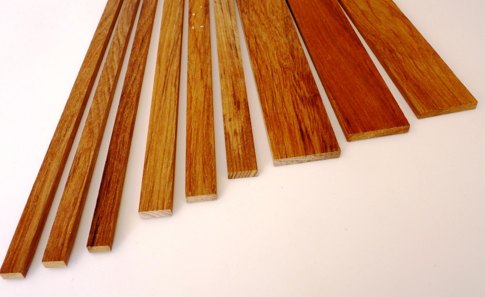 1 4 Thick Teak Strips 1 2 To 1 7 8 Wide 1 To 5 Long
