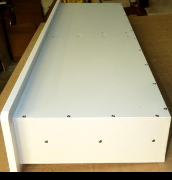 2 drawer side by side rear view