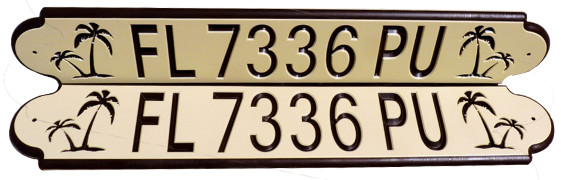 tan-brown-tan FL registration numbers