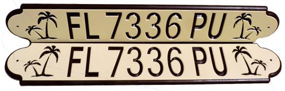 tan-brown-tan FL registration numbers