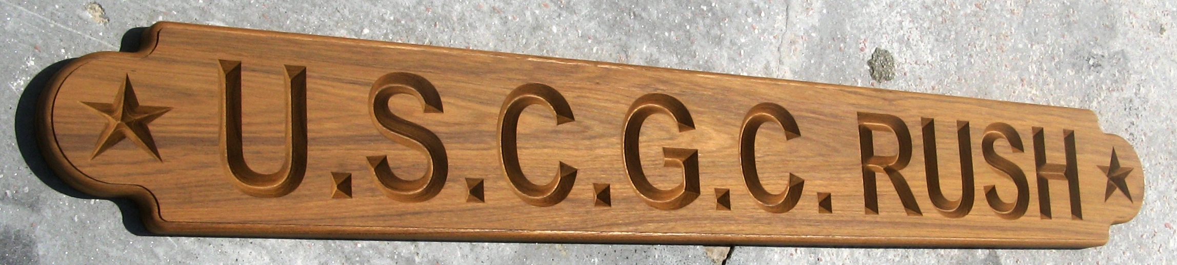 custom name board uscg rush full size