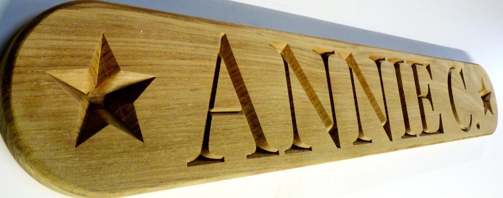 name board annie c full size
