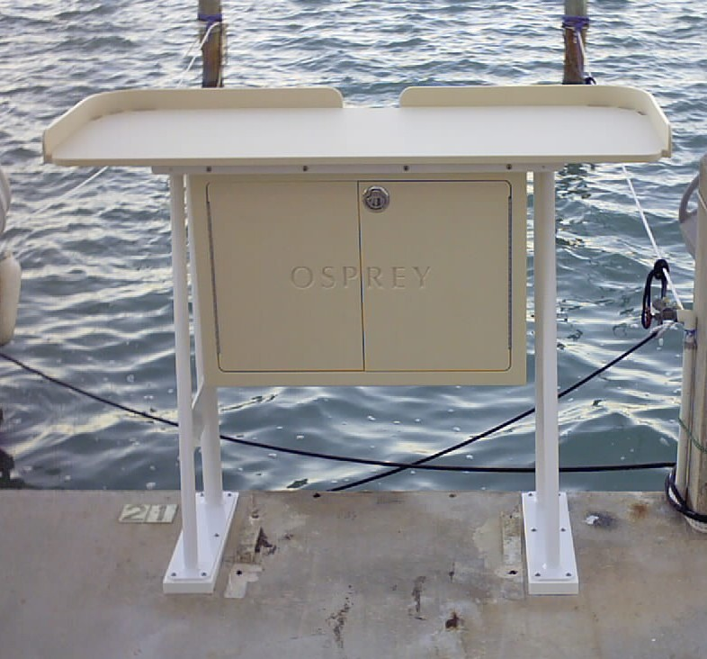 King starboard fish cleaning station 54 x 23 top for Fish cleaning tables