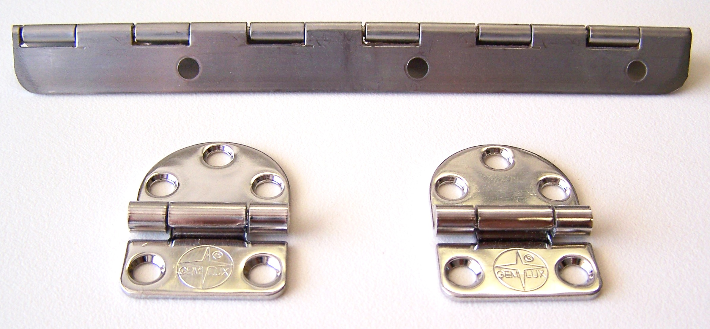 hinge hardware types