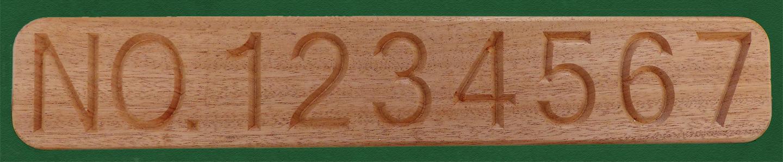 mahogany doc board