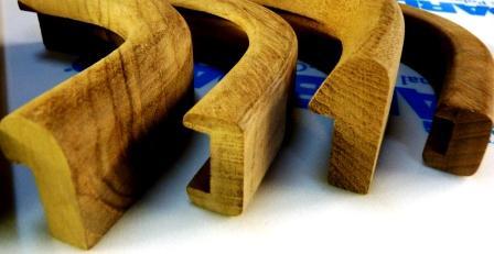 teak molding corners
