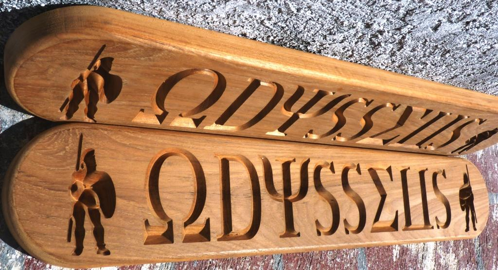 custom name board odysseus