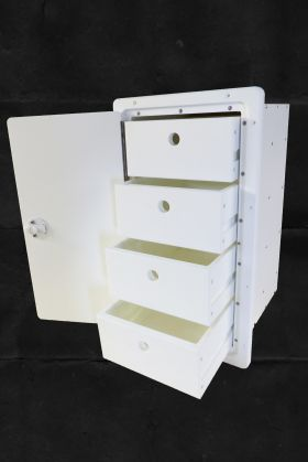 4 Drawer Tackle Center With Door Open